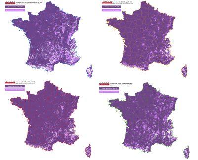 L'ARCEP livre son étude sur la qualité de la 3G en France : Free Mobile est le mauvais élève