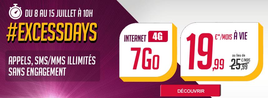 Virgin Mobile : un forfait 4G avec 7 Go de data pour 19,99 euros jusqu'au 15 juillet