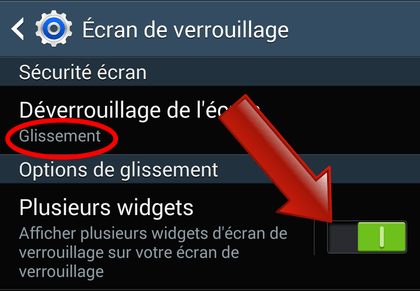 Comment afficher vos applications favorites sur l'écran de verrouillage ?