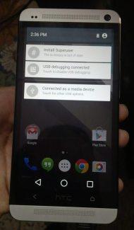 La preview d'Android L portée sur le HTC One M7 !