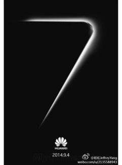 IFA 2014 : Huawei tease le mystérieux chiffre 7