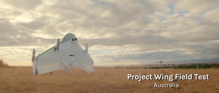 Google présente Project Wing : des drones capables de livrer des marchandises à domicile