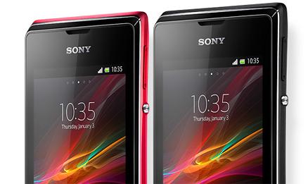 Sony ne mettra plus à jour le Xperia E