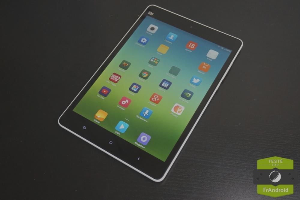 Test de la Xiaomi Mi Pad : un iPad Mini killer à bas prix en Tegra K1