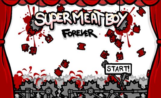 Super Meat Boy Forever : une version Android pour Super Meat Boy