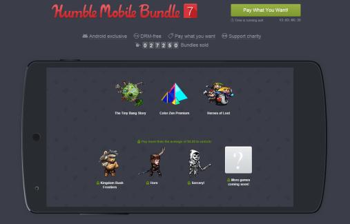 Le Humble Mobile Bundle 7 est disponible : les jeux à tester