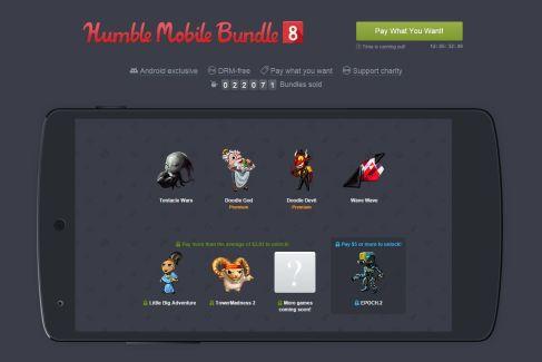 Le huitième Humble Bundle Mobile est disponible : un sans faute !