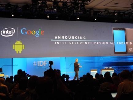 Intel veut faire sa révolution mobile avec un support d'Android porté à deux ans