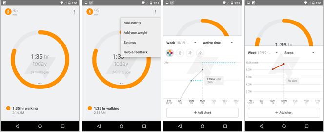 L'application Google Fit se dévoile dans une version de test
