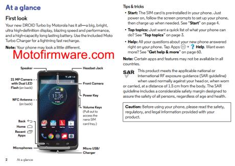 Le Motorola Droid Turbo dévoile son look et son capteur de 21 MP