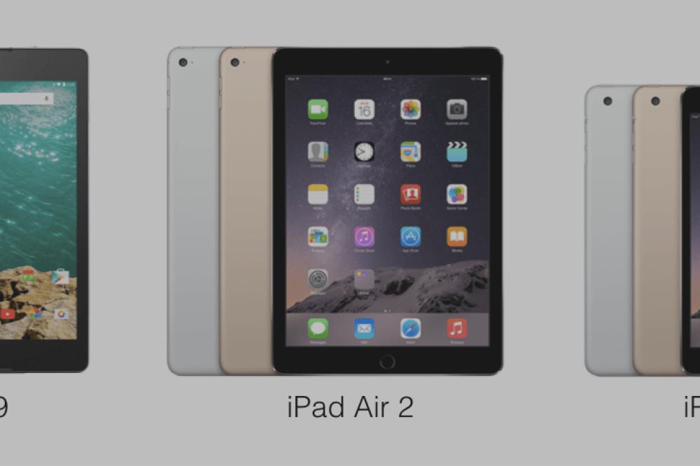 La Nexus 9 taillée pour lutter face à l'iPad Air 2 et l'iPad Mini 3 ?