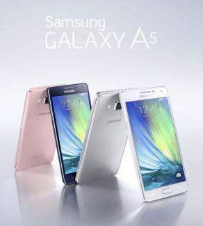 Samsung Galaxy A3 et A5 : les déclinaisons entrée et milieu de gamme du Galaxy Alpha
