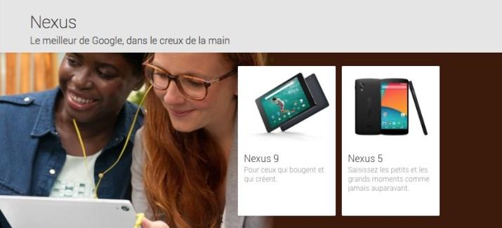 La Nexus 7 disparait du Play Store