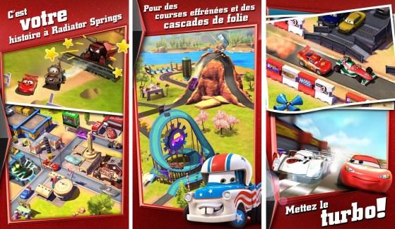 Cars : Rapide comme Flash est un très bon jeu pour les enfants
