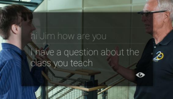 Des Google Glass pour (presque) lire sur les lèvres