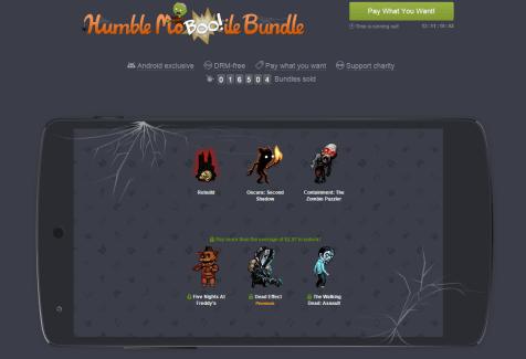 Humble Mo-Boo-ile Bundle : un pack de jeux spécial Halloween