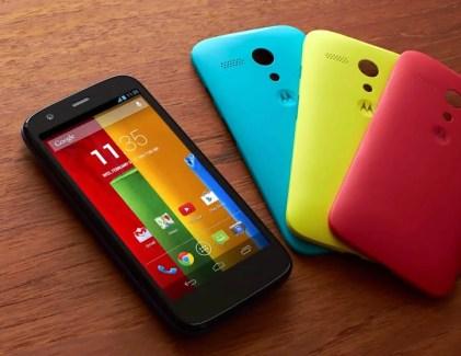 Un aperçu d'Android L sur le Moto G