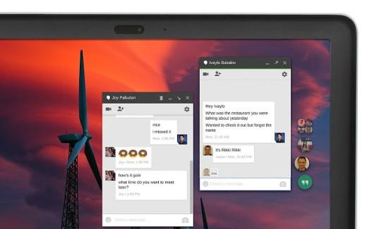 Hangouts pour Chrome affiche désormais les chatheads