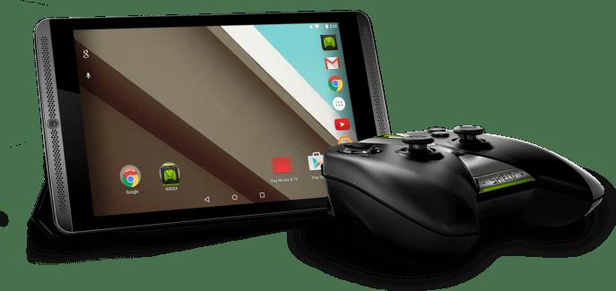 La Shield Tablet passe à Android 5.1 Lollipop et améliore ses performances