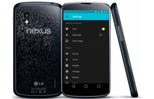 Le Nexus 4 n'aura pas droit à toutes les fonctionnalités photo de Lollipop