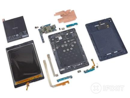 La Nexus 9 se fait démonter par iFixit avec un 3/10