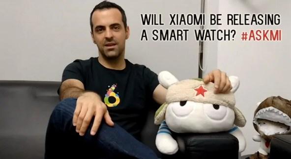 Xiaomi planche bien sur une smartwatch