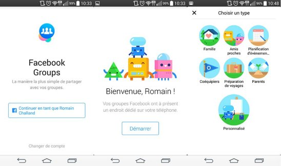 Facebook lance Groups, une application dédiée à vos… groupes