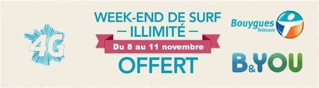 Bouygues Telecom ouvre les vannes le week-end prochain