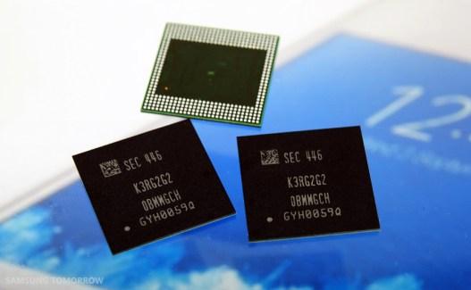Samsung aurait conclu un accord avec Apple et LG sur la mémoire LPDDR4