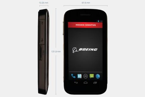 Boeing Black : BlackBerry se penche sur le smartphone Android qui peut s'auto-détruire
