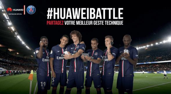 Huawei vous fait gagner des places pour un match du PSG !