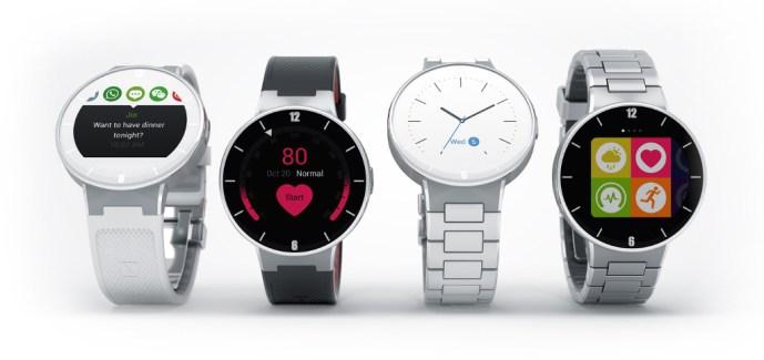 Alcatel One Touch Watch : elle est compatible Android et iOS pour 129 euros