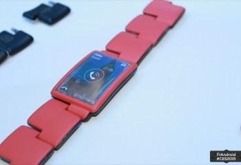 Blocks Wearables, la montre modulaire à l'état de prototype