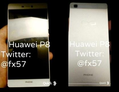 Huawei P8 : une première photographie du mobile ?