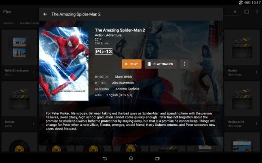 Plex : une nouvelle application Android et un léger changement de design