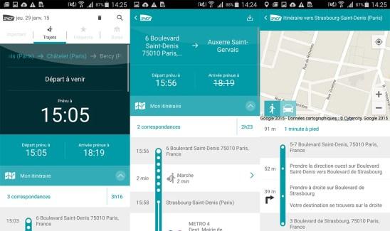 La SNCF lance une nouvelle application Android