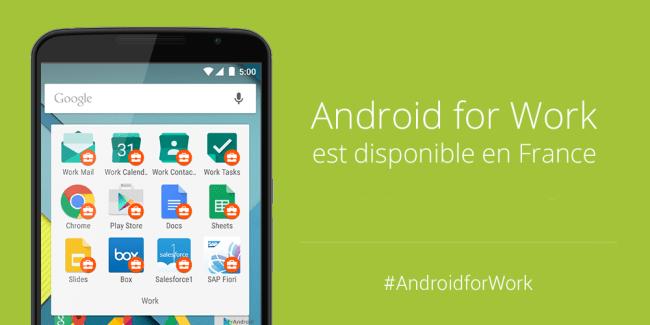 Android for Work, la solution Google à destination des professionnels