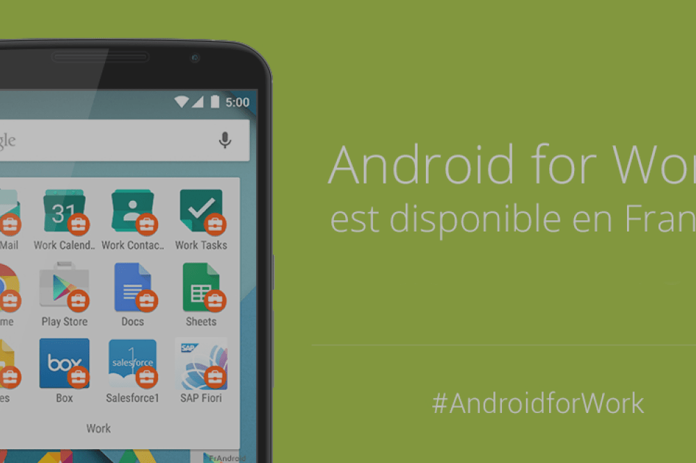 Android for Work, la solution Google à destination des professionnels