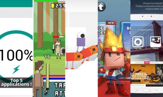 Les apps de la semaine : Battery Widget Reborn, RPG Clicker, Odd Bot Out, Boulder Dash 30th Anniversary et Photofy
