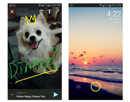 ScreenPop Lockscreen, quand l'écran de déverrouillage devient social