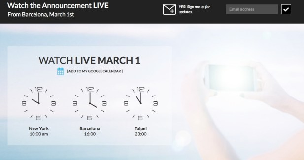 HTC One M9 : où suivre la conférence de lancement ?