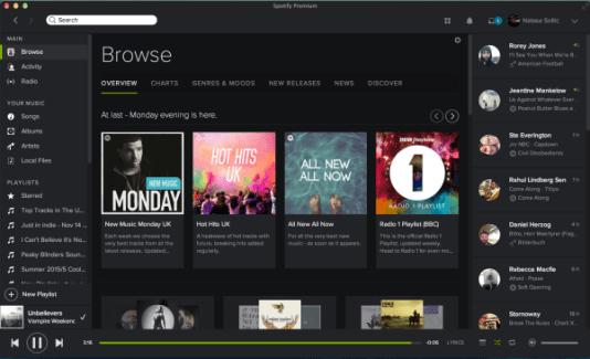 Spotify et Musixmatch sont aussi amis sur la version bureau