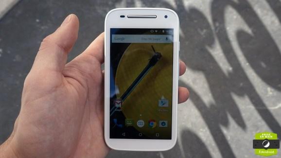 Prise en main du Motorola Moto E 4G, petit mais rapide