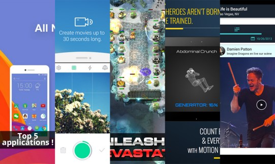 Les apps de la semaine : Solo Launcher, LINE SnapMovie, Sentinel 4: Dark Star, 7 Minute Superhero Workout et Banjo