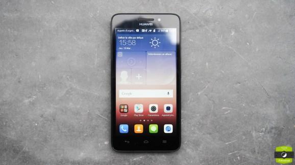 Test du Huawei G620S, la 4G en entrée de gamme sous Emotion UI