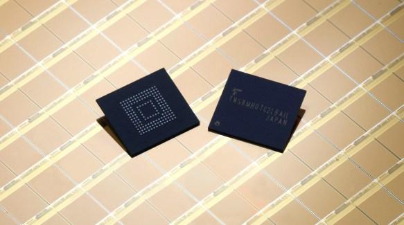 Toshiba lance des puces de 128 Go d'eMMC 5.1