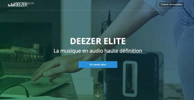Deezer Elite HD se lance en France
