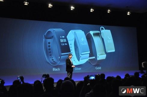 Le Talkband B2, le bracelet Huawei compatible iOS et Android