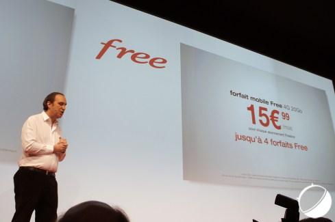 Free Mobile : le forfait à 15,99 euros par mois étendu à quatre abonnements