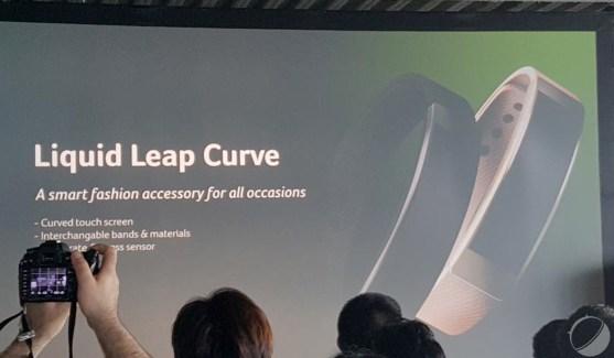 Liquid Leap Fit, Leap Curve et Leap Active : les nouveaux bracelets d'Acer